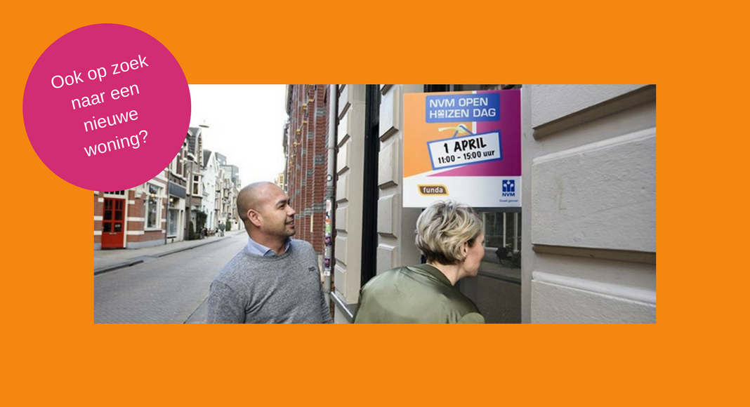 Open Huizen Route : Nvm open huizen dag op 1 april. op zoek naar jouw droomwoning?
