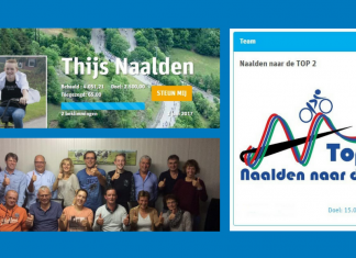 Team Naalden naar de TOP